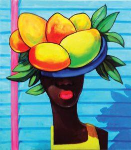 Vendedora de mangos 30¨x ·32¨