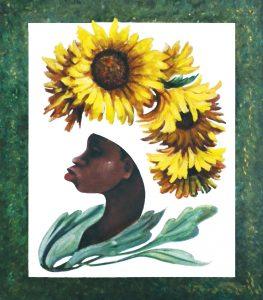 Vendedora de Flores 30¨x ·32¨